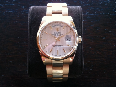 ROLEX ref 118208 - OYSTER PERPETUAL DAY DATE